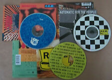 R.E.M. CD x 3 Out of Time Automatic For The People Monster CD *UNBOXED*