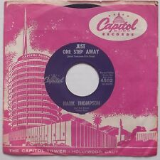HANK THOMPSON: Two Hearts Deep in Blues COUNTRY Capitol BOPPER 45 hear it