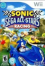 Sonic & Sega All-Stars Racing (Nintendo Wii, 2010) Case And Disc only