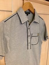 LYLE & SCOTT Mens Small Size Grey Summer Polo Shirt Great Looking Shirt