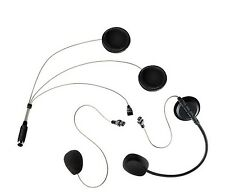 HELMET MICROPHONE EARPHONE SET COHS PMR 446 BHS 300 600 ALBERTH