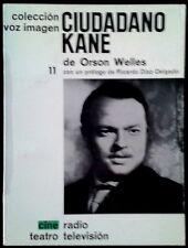 CIUDADANO KANE - Orson Welles - SPAIN LIBRO Ayma 1965 - Voz Imagen Nº 11 - 1ª Ed