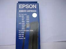 EPSON #8750 lx-300 lq-300 + nastro della macchina RIBBON ORIGINALE lq-850+ lq-570 fx800