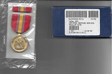 National Defense Service Medal Set - Medal and Ribbon NIB Sealed. As issued.