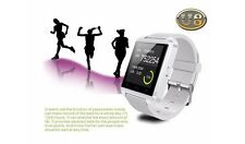 U8 Bluetooth Smart Watch for Android iPhone Windows Mobile - White