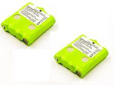 2 x Batteria per Topcom Twintalker 9100 / TT9100 batteria Ricambio