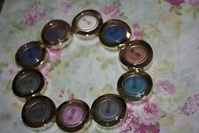 10X MILANI BELLA GEL POWDER EYESHADOW  MIX COLORS  + FREE EYELINER BROWN
