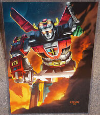 Voltron Glossy Print 11 x 17 In Hard Plastic Sleeve