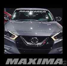 "MAXIMA Nissan 36"" Front Windshield Window Banner Decal Sticker maxima nismo"