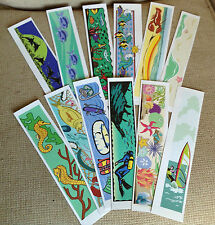Set of 24 Ocean Bookmarks for Your Classroom