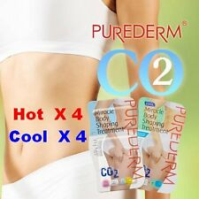 [PUREDERM] Miracle Body Shaping Treatment : Carboxy Patch - Hot(4)+Cool(4)