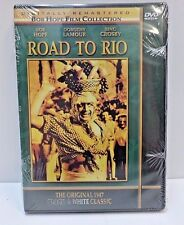 Road to Rio (DVD, 2001) Bob Hope Film Collection Bing Crosby NOS SEALED**