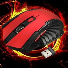 2.4GHz 6D 3000DPI USB Wireless Optical Gaming Mouse Mice For Laptop Desktop PC