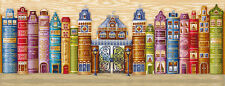 "Counted Cross Stitch Kit MAKE YOUR OWN HANDS - ""Kingdom of books"""