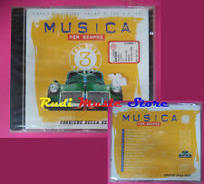 CD MUSICA PER SEMPRE SIGILLATO VASCO ROSSI LITFIBA LIGABUE NOMADI POOH (C12)
