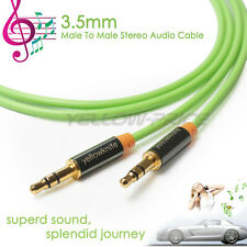 2M 3.5mm Jack Zinc Sleeve jacket Stereo Auxiliary Aux Audio Cable for MP3 Player