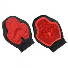 New Tough-1 Horse Scrub And Shed Mitt. Red
