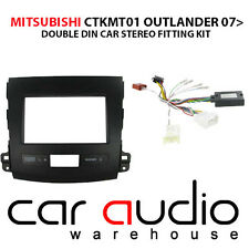 Mitsubishi Outlander 07-10 Stereo D/Din Fascia Steering Wheel Interface CTKMT01