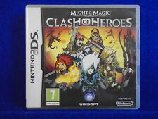 ds MIGHT & AND MAGIC Clash Of Heroes Turn-Based Puzzle Battle Game Nintendo PAL