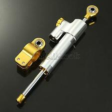 Adjustable Steering Damper Stabilizer Universal For Yamaha Honda CBR600RR Suzuki
