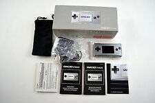 Nintendo Game Boy Micro Silver Handheld System New in Box
