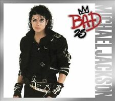 MICHAEL JACKSON - BAD (25 Anniversary Edition) 2CD, Brand New Not Sealed