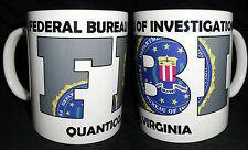 FBI,QUANTICO,GREY,FUN ,MUG
