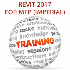 Revit 2017 para diputado (imperial) - Video Tutorial DVD de entrenamiento