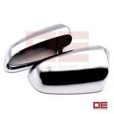 For Audi A4 S4 2002-08 B6 B7Alu Matt Alumium Finish S Line Look Mirror Cover Cap