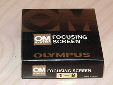 OLYMPUS OM FOCUSING SCREEN 1-8 NEW IN BOX