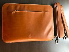 "This Is Ground Leather Mod Laptop 2 Case, 12"" Toffee Brand New"
