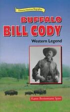 Buffalo Bill Cody: Western Legend (Historical American Biographies)-ExLibrary