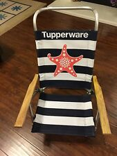 Tupperware Logo Lightweight Reclining Beach Chair