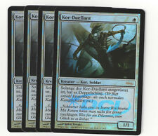 Magic the Gathering 102 Kor Duellant Gateway Promo Foil Playset (4)