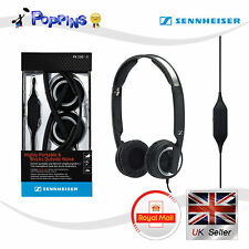 Nuevo Genuino Sennheiser PX200-II Plegable Cerrado Mini On-Ear Headphone (Negro)
