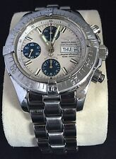 Authentic men's Breitling Super Ocean Chronograph  Swiss Automatc watch
