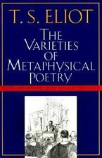 The Varieties of Metaphysical Poetry: The Clark Lectures at Trinity College, Cam