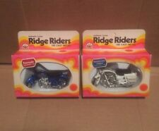 ZEE TOYS RIDGE RIDERS SCALE 1:26 KAWASAKI & YAMAHA 650 POLICE CYCLE VINTAGE LOT