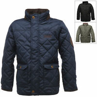 Regatta Boys Quilted Bruiser Jacket With Thermo-Guard Insulation Winter Outdoor
