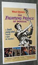 THE FIGHTING PRINCE IN DONEGAL orig movie poster PETER MCENERY/SUSAN HAMPSHIRE