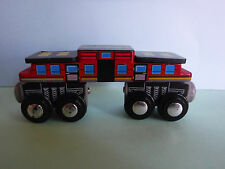 KIDCRAFT RED LONG CAR  EXCELLENT
