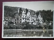 POSTCARD SWITZERLAND THUN HOTEL BEAU RIVAGE