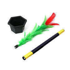 New Gimmick Comedy Flower Stick Magic Trick Kid Show Prop Great Toy For Children
