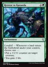Retreat to Kazandu NM Duel Zendikar vs. Eldrazi MTG Magic Green Uncommon