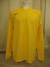 Nike Goalkeeper Football Shirt in Yellow (L)