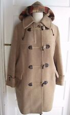 Vintage 60s Hooded LodenFrey Munchen Toggle Closure Wool Duffle Peacoat Coat 44