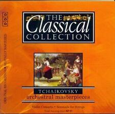 TCHAIKOVSKY: VIOLIN CONCERTO + SERENADE FOR STRINGS / DALIBOR BRAZDA - CD (1994)