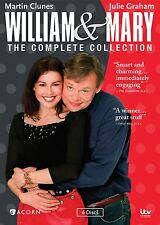 WILLIAM & MARY Complete Collection DVD Set Complete Series Season 1-3 TV Show R1