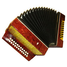Russian Garmon Harmonika 2 Rows 25 Bass Button Accordion, 541