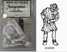 OSPREY MEN AT ARMS MA 245 - EUROPEAN FOOT SOLDIER 1200-1300 - 54mm WHITE METAL